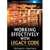 working effectibely with legacy code